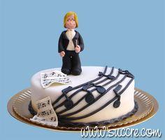 Conductor Cake - Music Cake - Tarta director de orquesta - Música