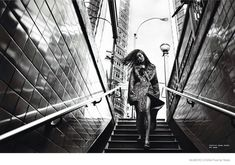 Liu Wen Poses in Black & White for Txema Yeste in Numéro China Shoot