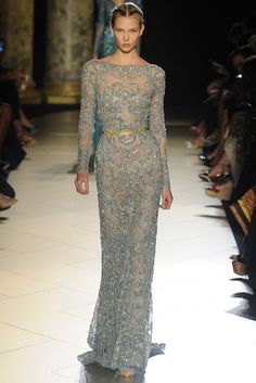 Elie Saab Fall Couture 2012 | WWD