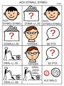 Pro Šíšu: Ach synku, synku Ale, Playing Cards, Language, Comics, Czech Republic, Montessori, Autism, Beer, Ale Beer