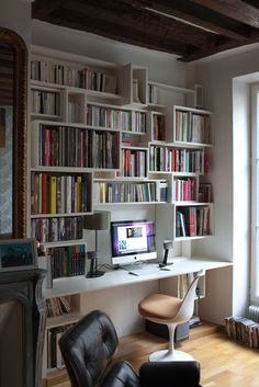 bureau int gr bibliotheque recherche google salon pinterest bureau id es de bureau et. Black Bedroom Furniture Sets. Home Design Ideas