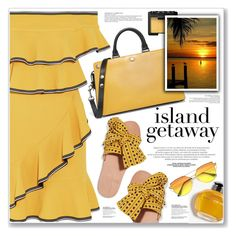 """""""ISLAND GETAWAY"""" by nanawidia ❤ liked on Polyvore featuring Rebecca Vallance, Brother Vellies, Burberry, NARS Cosmetics, polyvoreeditorial, polyvorecontest and islandgetaway"""