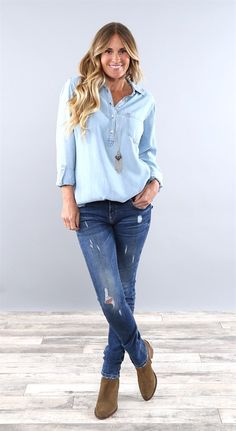 Fall Transitional Casual Tops | Jane
