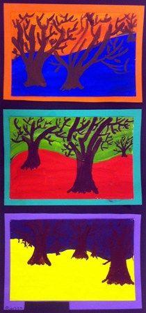 5. lk maalaus Vastavärit