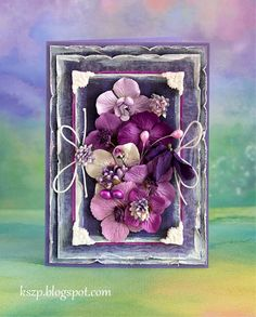 Klaudia/Kszp -  This gals cards and flowers are amazing.