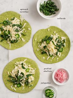 Green Quesadillas / @loveandlemons