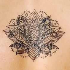 Photo of Black & Blue Tattoo - San Francisco, CA, United States. Lotus tattoo done by Morpheus.