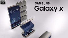 Samsung Galaxy X - Foldable Smartphone ( Galaxy X1 and X1+ ) Concept 201...