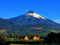 #pucon, chile #volcan villarica