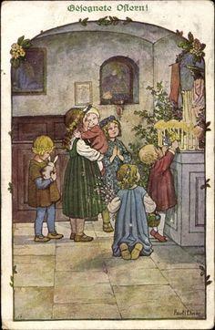 http://www.akpool.fr/cartes-postales/24941107-kuenstler-ak-ebner-pauli-glueckwunsch-ostern-kinder-beten-am-altar