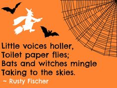 Witches mingle... A Halloween poem