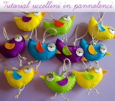 Idea veloce per realizzare dei simpatici fuoriporta a forma di uccellino per donare alla nostra casa un aspetto primaverile!
