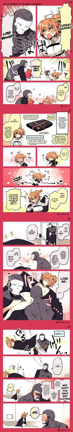 Exchanging gift, Gudako and Cursed Arm