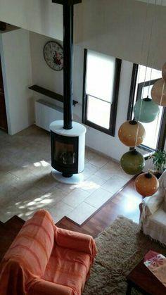 Romotop Stromboli Ceramic white. Wood Stoves, Stromboli, Home Appliances, Ceramics, Contemporary, House Appliances, Ceramica, Pottery, Wood Burning Stoves Uk