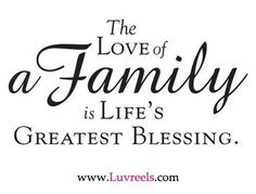 Greatest blessing