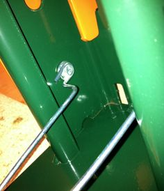Ridg-U-Rak Pallet Rack Spring Clip is used in Ridg-U-Rak slotted and teardrop design pallet rack systems. Racking System, Industrial Shelving, Pallet, Door Handles, Shelf, Spring, Catalog, Easy, Industrial Shelves