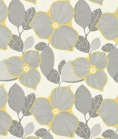 OPTIC BLOSSOM in Linen  Amy Butler AB27  Midwest by MoonaFabrics