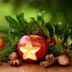 #Christmas #apple
