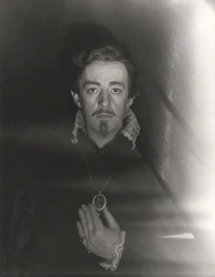 Sir Alec Guinness as Hamlet  by Cecil Beaton 1951  *I thought it was Robert Downey Jr for a minute.