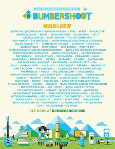 Bumbershoot 2013 Lineup