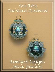 Picture Frame Beaded Christmas Ornament Pattern  BeadPatterns