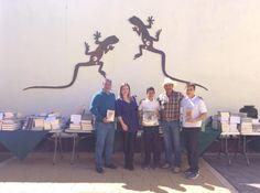 Dadas las gestiones realizadas por el alcalde Enrique Lujan Álvarez y, el Dip. Federal Alex Lebaron González, se entregaron más de mil libros...