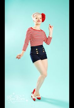 I have a version of this on my sewing table.      Sailor shorts by Pinup Couture