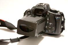 DIY DSLR viewfinder... perfect for beach photos.