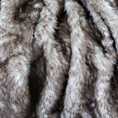 "Amazon.com: Best Home Fashion Platinum Frost Fox Faux Fur Full Throw Blanket 58"" x 84"" - TR: Home & Kitchen"