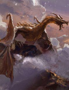 blog of awesome, theamazingdigitalart: Dragon by LiXin Yin