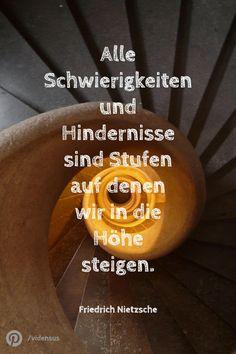 #zitate #weisheiten #sprüche #hindernisse #schwierigkeiten