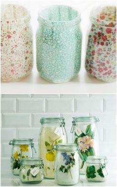 5 new ways to use mason jars | ohlovelyday.com #masonjars