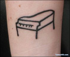 musictattoo-piano-music-tattoo-clean and simple