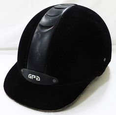 Pikeur GPA titium riding helmet, black velvet 55 used show helmet