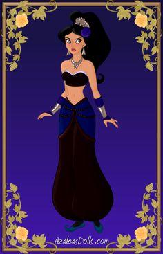 Jasmine { Scourge of the Desert } by kawaiibrit.deviantart.com
