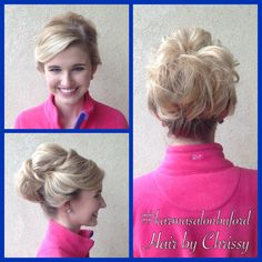 #updo #hair #blonde #prom #love #beautiful #karmasalonspabuford #bufordga #hairbychrissy
