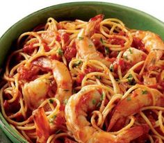 tips on natural cures, nutrition, beauty, health, and fitness Yummy Pasta Recipes, Greek Recipes, Fish Recipes, Seafood Recipes, Cooking Recipes, Yummy Food, Healthy Recipes, Healthy Food, Healthy Dinners