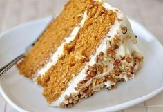 """""""The BEST carrot cake recipe ever!"""" He loves carrot cake, will have to try it. Cupcakes, Cupcake Cakes, Whipped Cream Cheese Frosting, Cake With Cream Cheese, Just Desserts, Delicious Desserts, Yummy Food, Cake Recipes, Dessert Recipes"""
