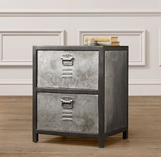RH baby & child  Vintage Locker Nightstand | Nightstands & Side Tables | Restoration Hardware Baby & Child