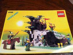 Vintage Lego Forestmen Set 6066 6054 1987 w Instructions Minifigs Castle | eBay