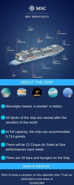 Meet MSC Meraviglia!