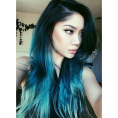 30 Hot dyed hair Ideas ❤ liked on Polyvore featuring hair