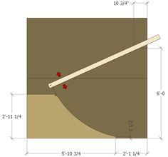 http://diyskate.com/quarter_02.html  3ft high quarter pipe from diy skate.com