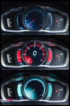 The screen modes on the Volvo V60 Plugin Hybrid are really well designed and great to look at.
