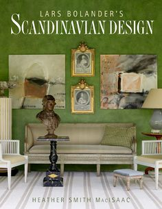 Everything's painted on the cover of Lars Bolander's new book. This comes by way of my friend, Edie Van Breems of Eleish Van Breems, definitive expert and retailer of Swedish antiques.