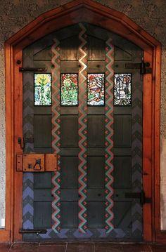 Door in Hall, Upton, Bexleyheath, England