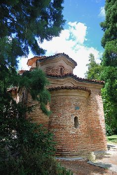 believe it or not this is the most beautiful church in the world. boyana church in bulgaria, with the most beautiful paintings you've ever seen covering the walls of the tiny interior