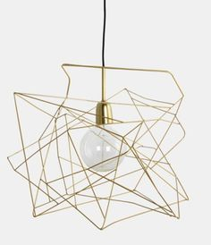 Shop House doctor, Asymmetric lampskärm guld from Nyttrum in Decorative lighting, available on Tictail from kr House Doctor, Gold Ceiling, Ceiling Lamp, Ceiling Lights, Black Ceiling, Gold Lamp Shades, Light Shades, Decoration Design, Deco Design