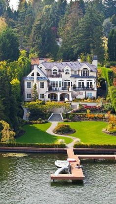 I would probably never need this much of a house but this sure is breathtaking!
