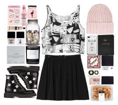 """""""♠One of a kind, you´ll never find another like me♠"""" by centurythe ❤ liked on Polyvore featuring Monki, Dorothy Perkins, Butter London, FOSSIL, H&M, CASSETTE, Life With Bird, T.U.K., Dogeared and Byredo"""